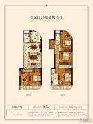 富春新天地二期5室2厅3卫0平方米户型图
