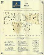恒大绿洲5室2厅4卫100--162平方米户型图