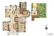 新田城3室2厅2卫148--191平方米户型图