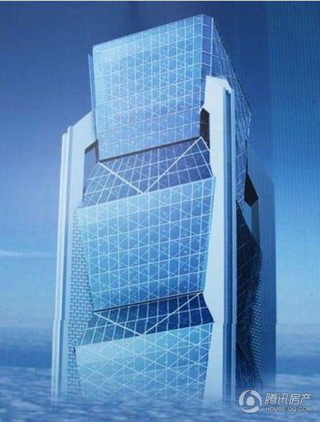 恒天国际大厦效果图