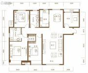 保利・领秀山4室2厅2卫154平方米户型图