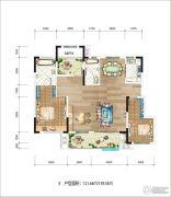 新华九龙首府121--139平方米户型图