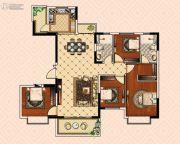 南昌恒大御景(原恒大帝景)4室2厅2卫138平方米户型图