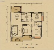 鸿润・叠韵3室0厅0卫141平方米户型图