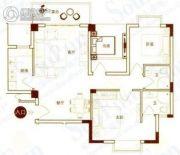 港城国际豪庭3室2厅2卫0平方米户型图