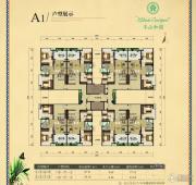 半山和园2室1厅1卫77平方米户型图