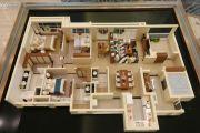 绿地香颂公馆4室2厅3卫165平方米户型图