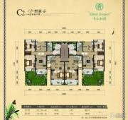 半山和园2室1厅1卫85平方米户型图