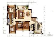 环球汇天誉4室2厅2卫180平方米户型图