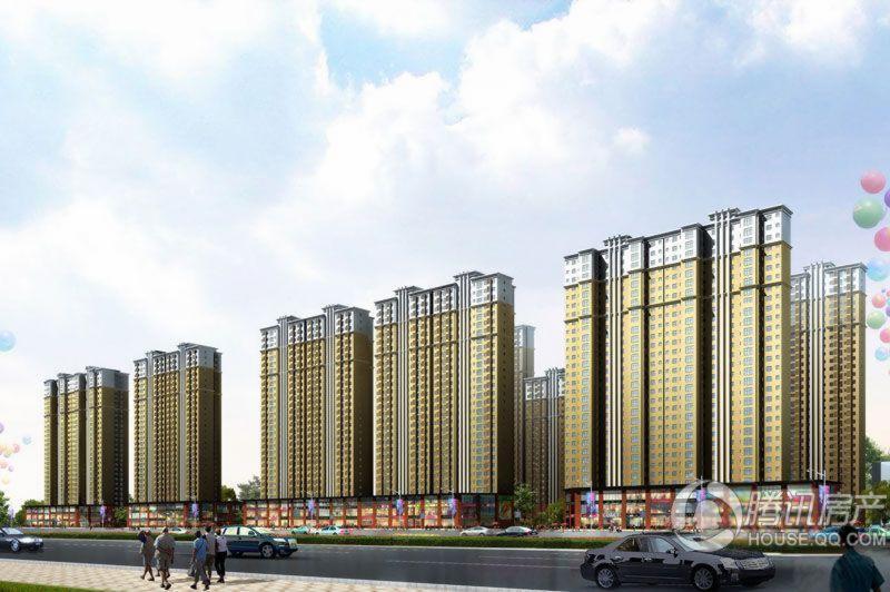 香缤国际城效果图