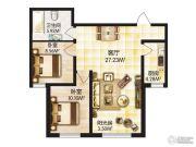 福顺尚景2室1厅1卫0平方米户型图