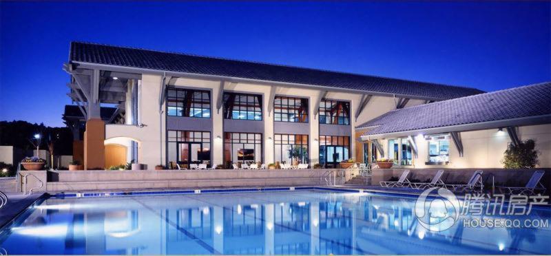保利石象湖国际乡村俱乐部项目SPA酒店效果图