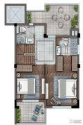 灏景湾3室2厅2卫123平方米户型图