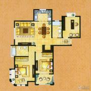帝奥世伦名郡3室2厅2卫143平方米户型图