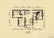 旺角金座3室2厅1卫0平方米户型图
