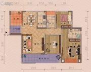 朋鹰・莱茵小镇3室2厅2卫128平方米户型图