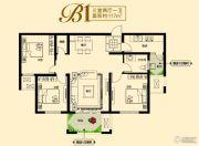 建业壹号城邦3室2厅1卫117平方米户型图