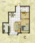 欧典・宏峪1室1厅1卫71平方米户型图