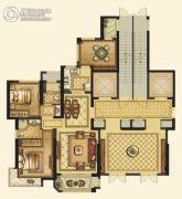 平阳滨江壹号3室2厅2卫99平方米户型图