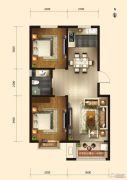 弘仁里2室2厅1卫0平方米户型图