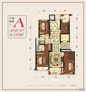 滨江铂金海岸4室2厅2卫0平方米户型图