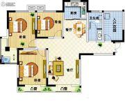 天明第一城3室2厅1卫0平方米户型图