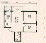 福宏名城1室0厅1卫62平方米户型图