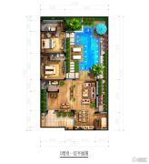 北京城建・海云家园85平方米户型图