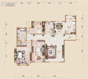 海宁湾3室2厅2卫150平方米户型图