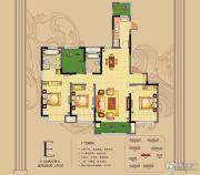 朗悦公园道1�4室2厅2卫155平方米户型图