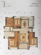 九洲绿城・翠湖香山4室2厅2卫139平方米户型图