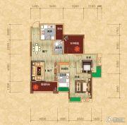 光瑞江都华宸2室2厅2卫102平方米户型图