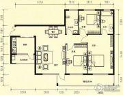 智慧名城3室2厅0卫0平方米户型图