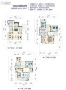 富力月亮湾5室6厅5卫291平方米户型图