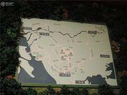 观澜湖御林山沙盘图