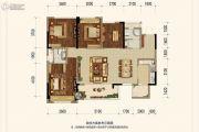 太行瑞宏朗诗金沙城4室2厅2卫0平方米户型图