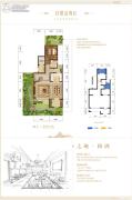 碧桂园保利云禧1室2厅2卫0平方米户型图