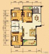 河畔春秋二期・碧水雅居3室2厅2卫117平方米户型图