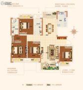 内乡建业森林半岛4室2厅2卫0平方米户型图
