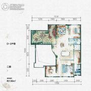 大汉汉园138平方米户型图
