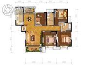 辰宇世纪城4室2厅2卫134平方米户型图