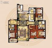 保利海德公馆3室2厅3卫262平方米户型图