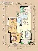 龙光阳光海岸3室2厅1卫89平方米户型图