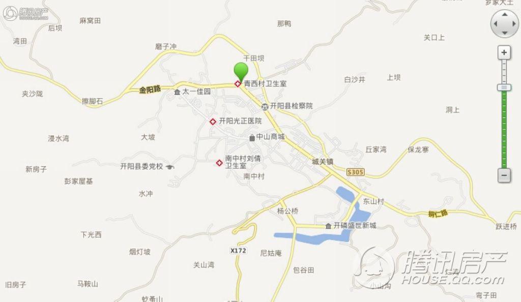 开阳辰龙花园地图坐标