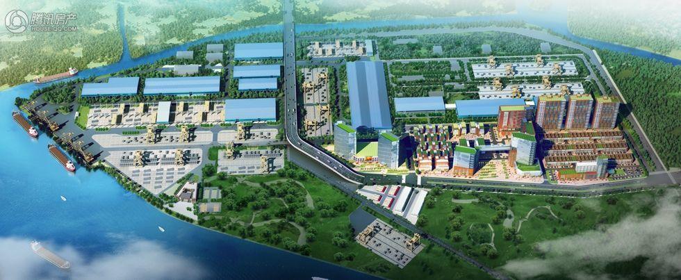广州钢铁博汇鸟瞰图02