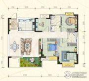 万豪・公园里4室2厅2卫130平方米户型图