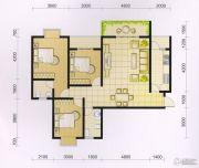 波兰尚龙城3室2厅2卫124平方米户型图