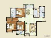 财信圣堤亚纳二期九臻3室2厅2卫136平方米户型图