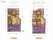 龙记玖玺6室3厅3卫295平方米户型图