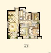 招商依云尚城2室2厅1卫88平方米户型图